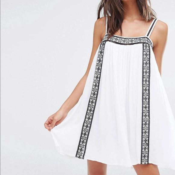 cfff2f1a42 ASOS Swim | Akasa Embroidered Beach Dress | Poshmark